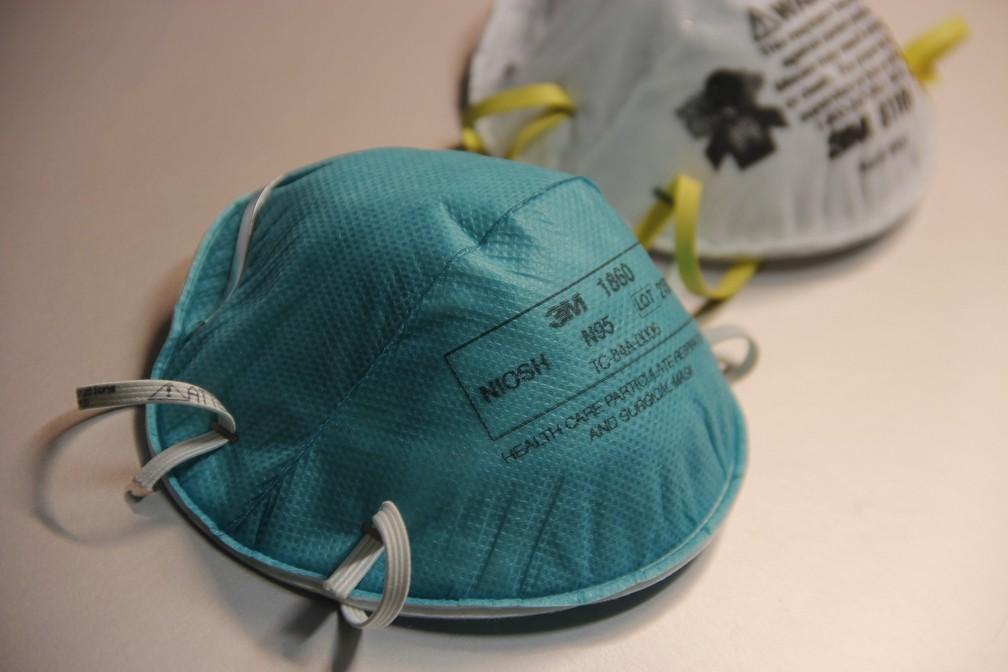 Máscaras do tipo N95 (equivalentes às PFF2 brasileiras) — Foto: CDC/Pexels