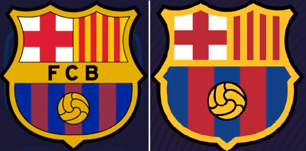 Barcelona Apresenta Proposta De Novo Escudo Que Sera Votado Por Socios Futebol Espanhol Ge