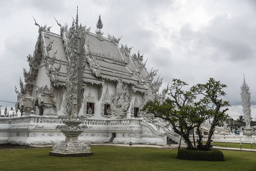 Templo deslumbrante Tailândia (Foto: divulgação)