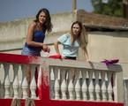 Marquezine e Tatá Werneck em cena da novela | Estevam Avellar/TV Globo