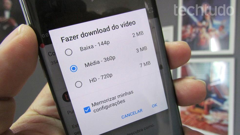 YouTube Premium: como baixar vídeos para assistir offline no