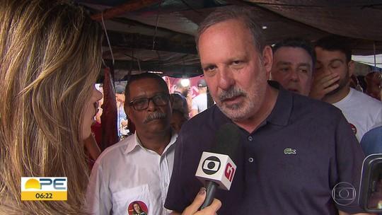 Armando promete duplicar rodovia e requalificar feiras livres em Pernambuco