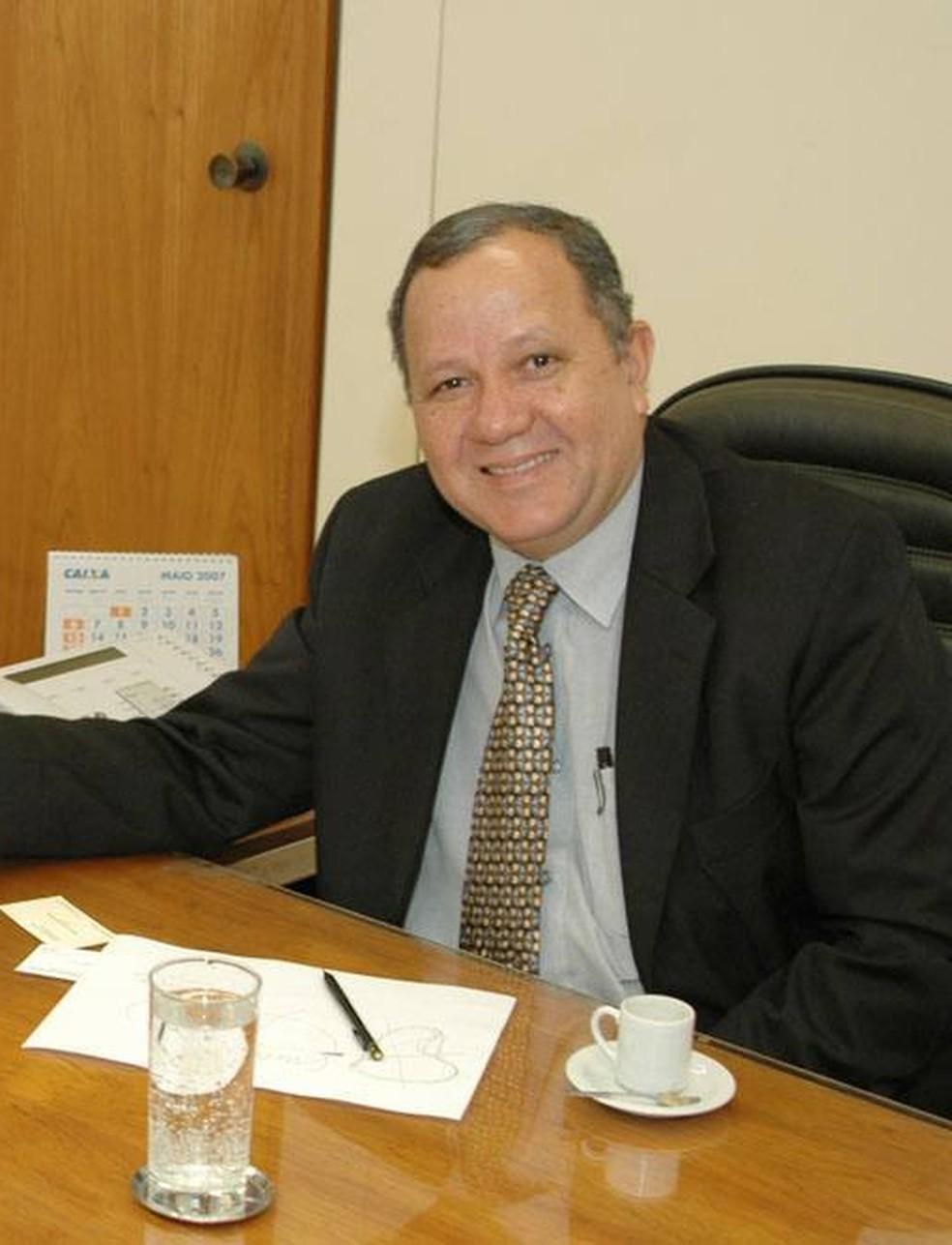 Ex-ministro Silas Rondeau em foto de 2007 em Brasília — Foto: Rafael Carvalho/Governo do Tocantins