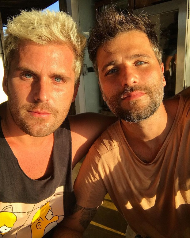 Thiago Gagliasso e Bruno Gagliasso (Foto: Reprodução/Instagram)