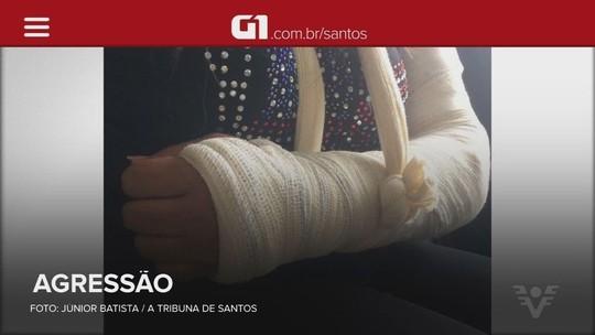 Mulher é agredida pelo ex com cabo de vassoura e tem o braço quebrado