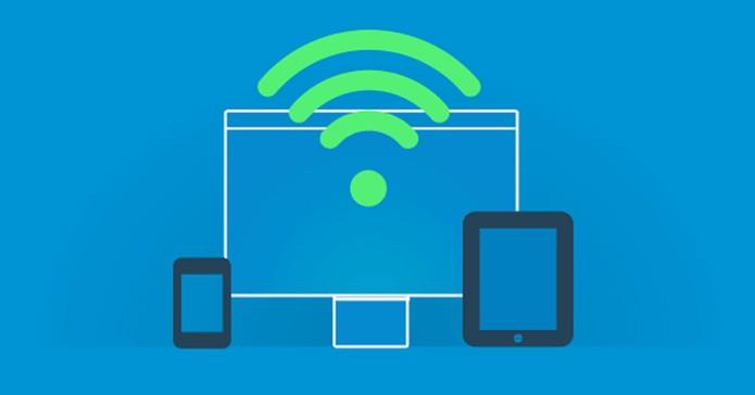 Conecte seus dispositivos através da rede Wi-Fi  (Foto: Reprodução/André Sugai)