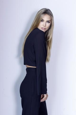 Marthina Brandt se despede do reinado de Miss Brasil (Foto: Celso Tavares / EGO)
