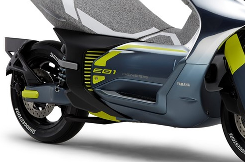 Yamaha E01, the electric scooter will be unveiled at Tokyo Show 2019 - Photo: Press Release
