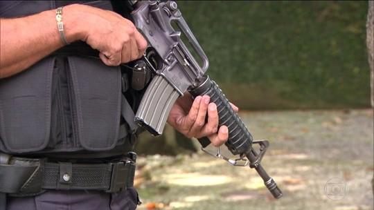 Até 3,5 mil fuzis estão nas mãos de criminosos no Rio, estima polícia