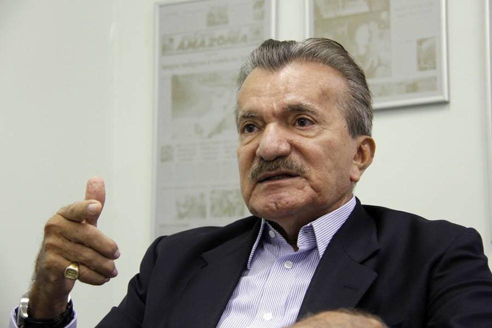 Ex-senador estava internado em Brasília tratando de um câncer.  — Foto: Reprodução/Facebook