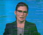 Momento da falha na abertura do 'Jornal nacional' | TV Globo