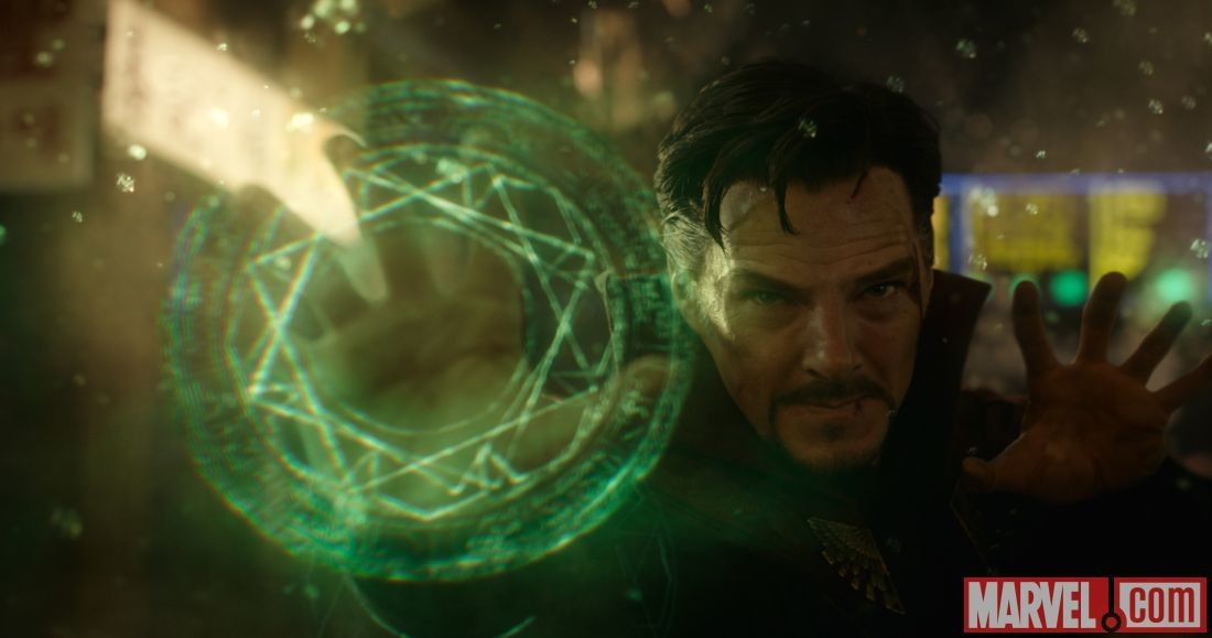 """Benedict Cumberbatch em cena do filme """"Doutor Estranho"""" (2016) (Foto: Divulgação)"""