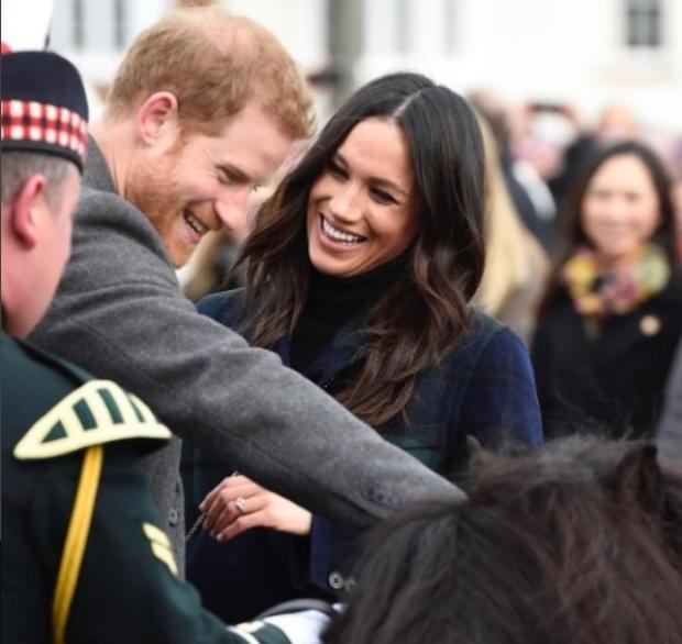 Príncipe Harry e Meghan Markle (Foto: Reprodução / Instagram Kensington Palace)
