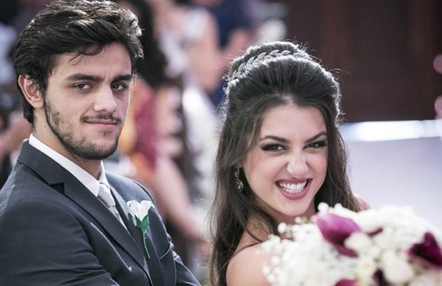 Jade e Cobra acabaram se casando (Foto: Globo)