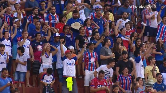 Vitória da Conquista x Bahia - Campeonato Baiano 2019 - globoesporte.com