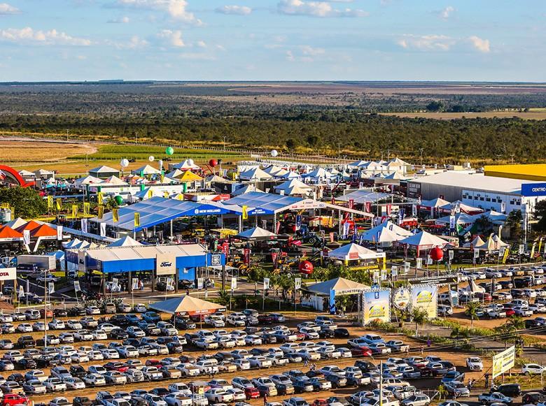 Em meio à colheita da segunda maior safra estadual de soja, negócios na Bahia Farm Show movimentam R$ 1,9 bilhão (Foto: Divulgação)