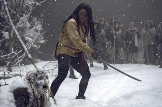 Cena de 'The walking dead' (Foto: Divulgação/AMC)