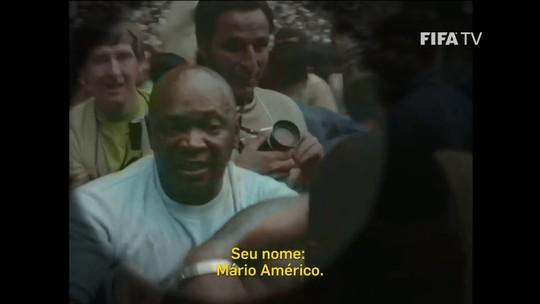 Site oficial da Fifa destaca Mário Américo, herói esquecido da Seleção Brasileira