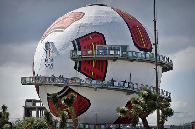 Salão da fama do futebol, no México (Foto: Divulgação)