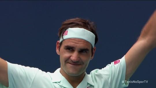 Ver Roger Federer jogar é um privilégio único e talvez não se repita na história do tênis