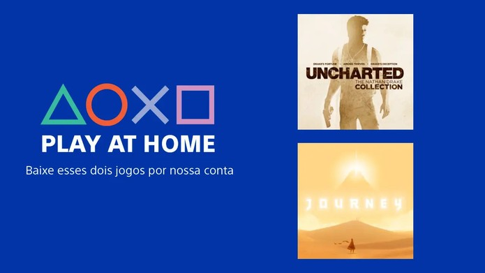Sony anuncia Play At Home no PS4 e oferece Uncharted e Journey ...
