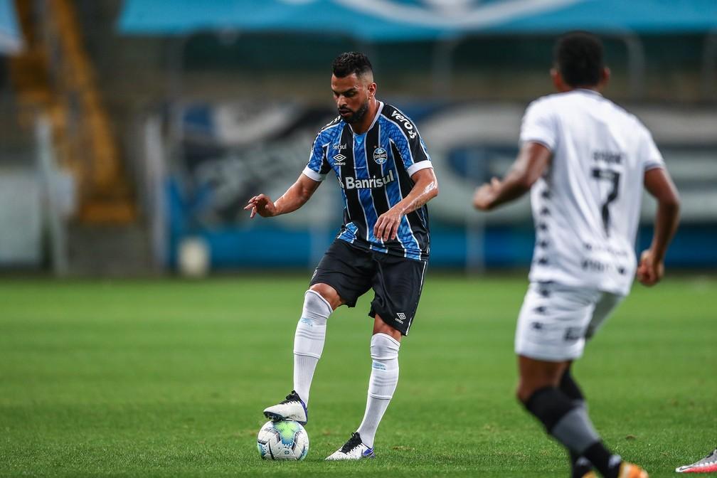 Maicon Grêmio x Botafogo — Foto: Lucas Uebel/Divulgação Grêmio