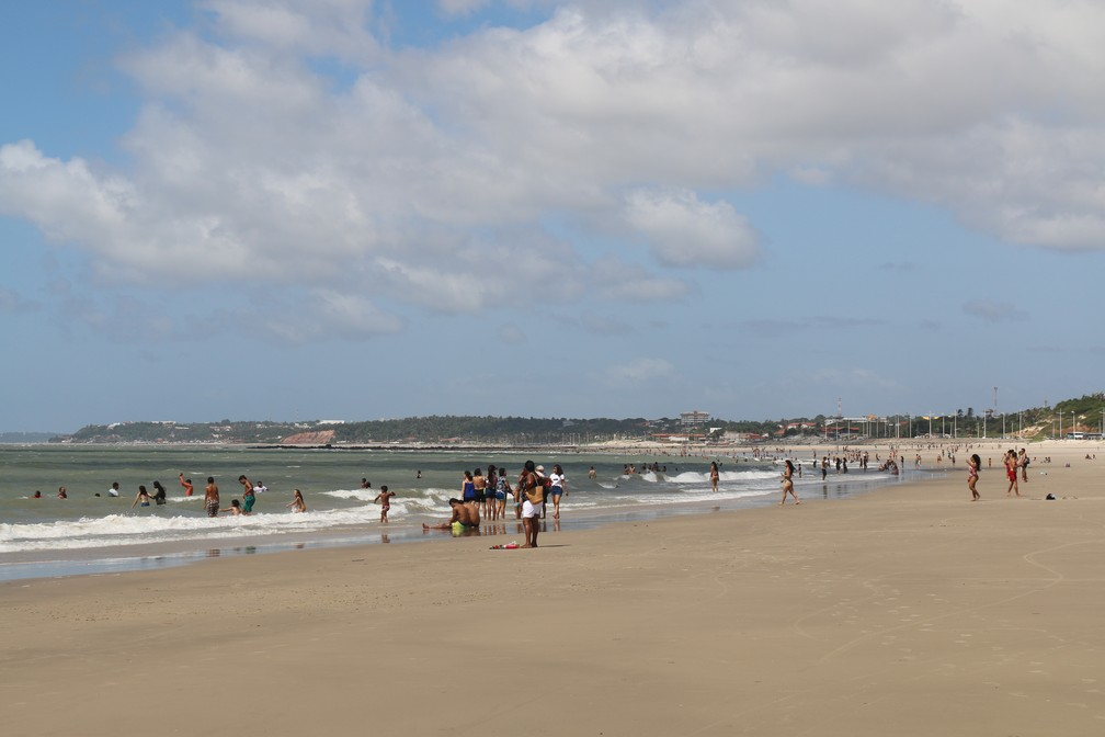 Praias de São Luís estão impróprias ao banho — Foto: Divulgação/Sema