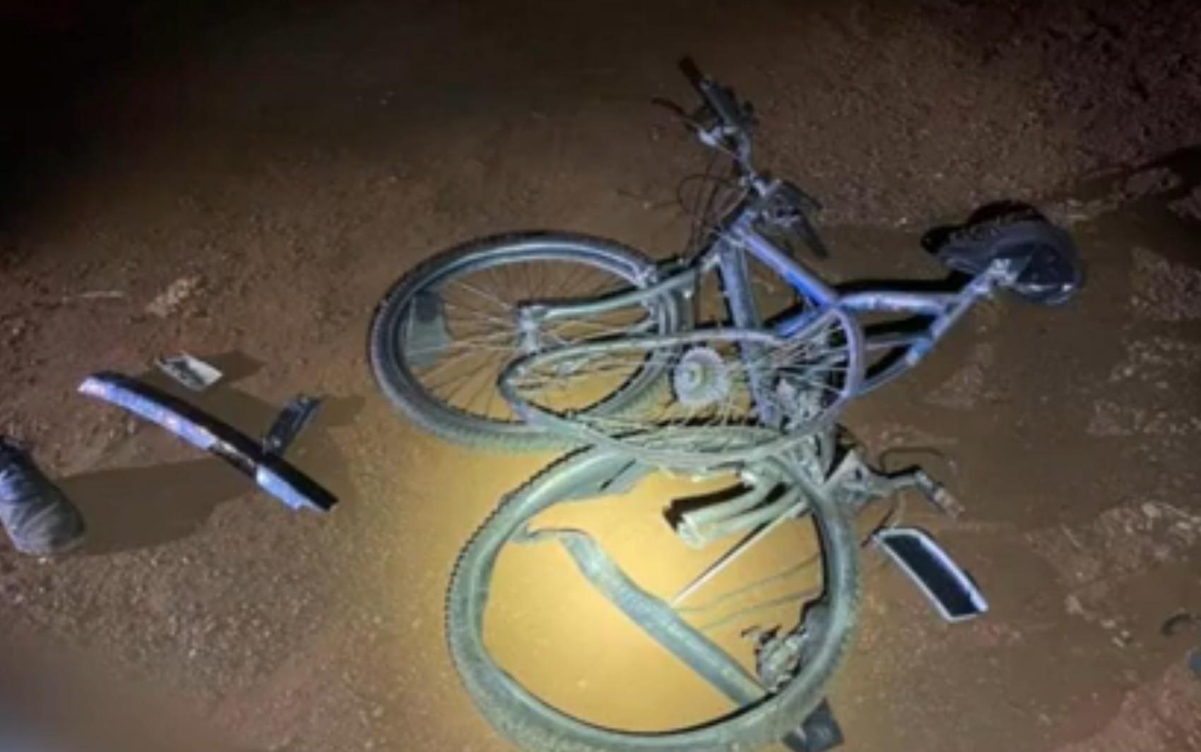 Soldador morre após ser atropelado enquanto voltava do trabalho de bicicleta, em Jataí