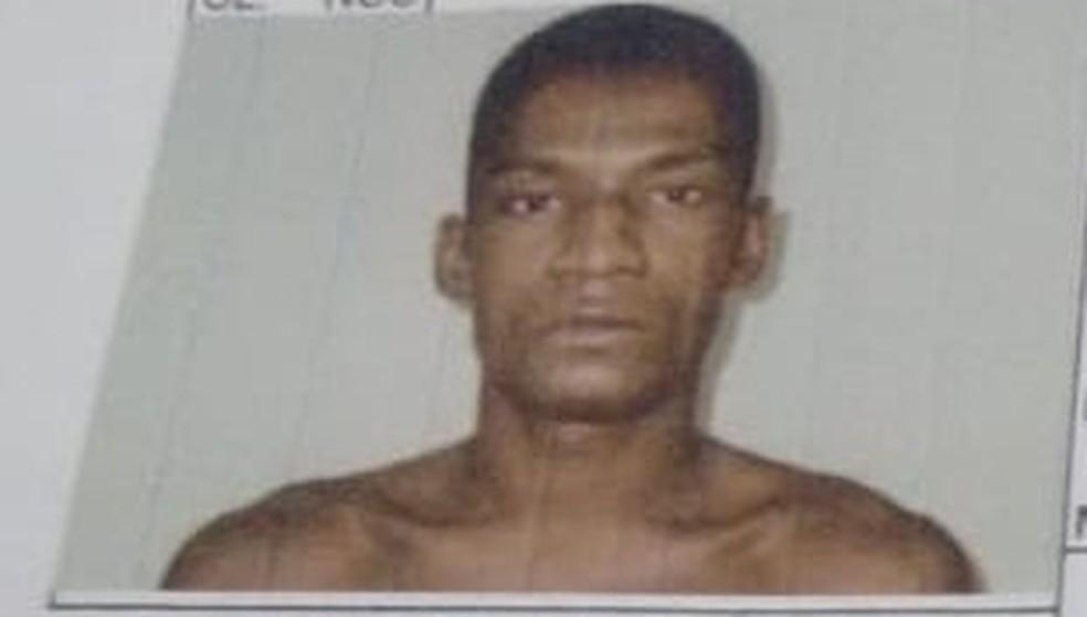 Nelson Oliveira dos Santos fugiu do presídio de Ariquemes no dia 6 de agosto de 2018 — Foto: Divulgação