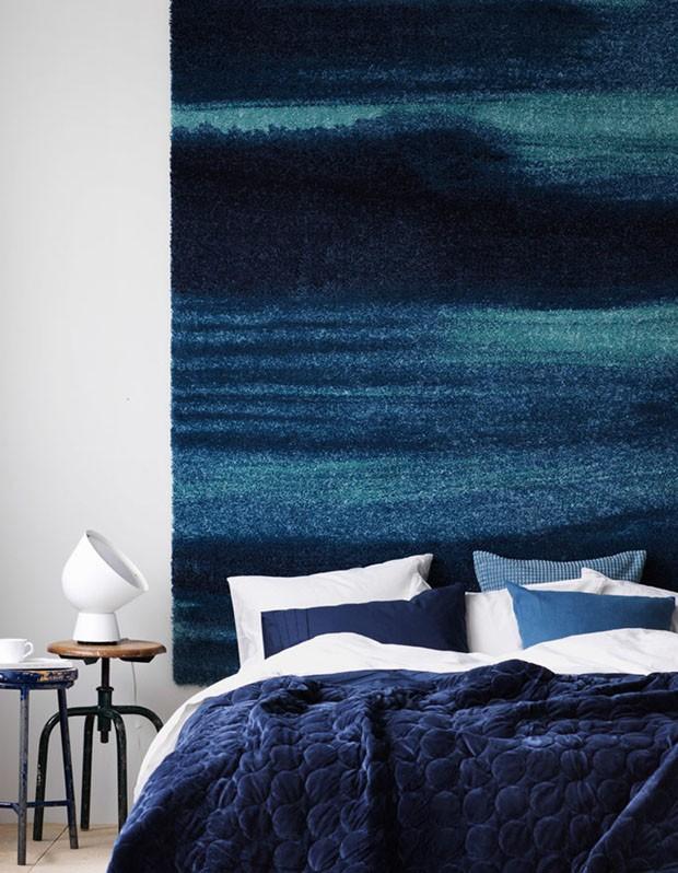 Décor do dia: Quarto com tons de azul e cores neutras (Foto: Ragnar Omarsson)