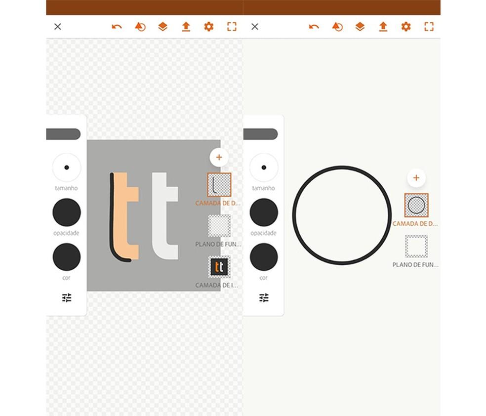 Adobe Illustrator Draw auxilia na criação de vetores — Foto: Reprodução/Marcela Franco