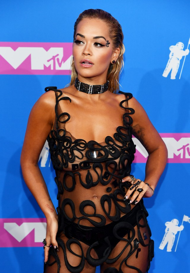 NEW YORK, NY - AUGUST 20:  Rita Ora attends the 2018 MTV Video Music Awards at Radio City Music Hall on August 20, 2018 in New York City.  (Photo by Nicholas Hunt/Getty Images for MTV) (Foto: Getty Images for MTV)