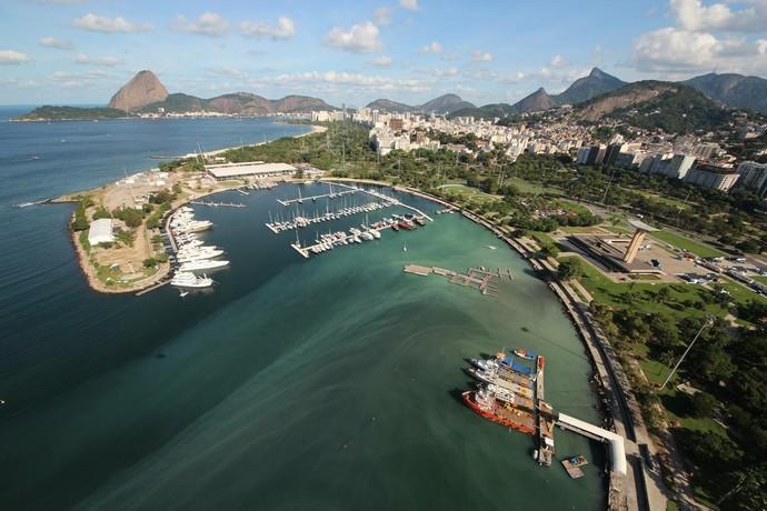 Marina da Glória Baia de Guanabara (Foto: Mario Moscatelli)