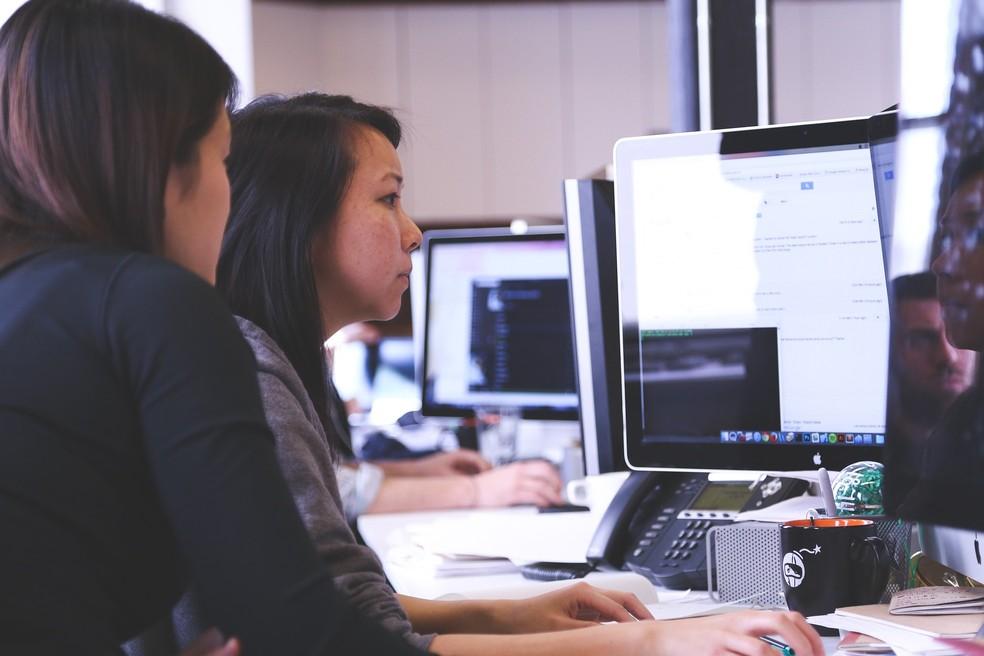 Aulas remotas podem motivar maior necessidade de profissionais que diagramem cursos online. — Foto: Reprodução/Pixabay/StartupStockPhotos