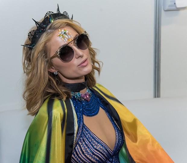 Paris Hilton (Foto: Caio Duran e Marcelo Brammer / Divulgação)