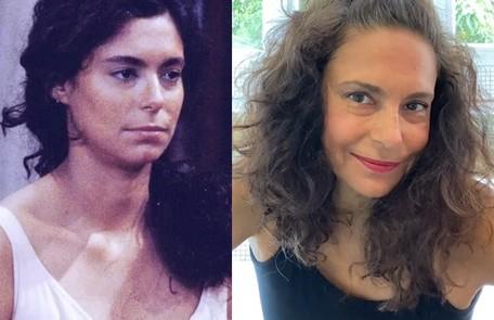 Giovanna Gold viveu Alzira, moça apaixonada por Tonho da Lua. Sua última novela foi 'Chiquititas', no SBT Reprodução