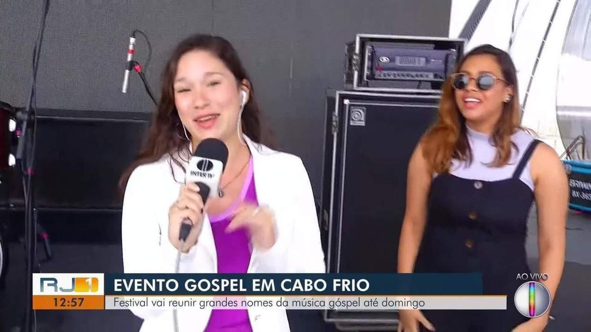 Cabo Frio, RJ, recebe festival gratuito de música gospel - G1