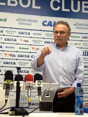 Presidente do Avaí sonha com Cleber Santana: penso em trazê-lo de volta