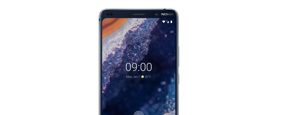 Nokia 9 PureView tem tela de 5,99 polegadas e promete alta definição — Foto: Divulgação/Nokia