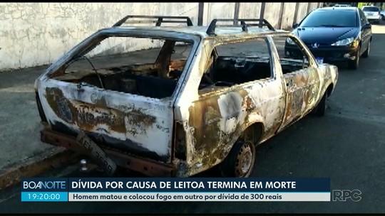 Homem é assassinado com tiro na cabeça ao cobrar dívida por compra de leitoa no Paraná, diz polícia