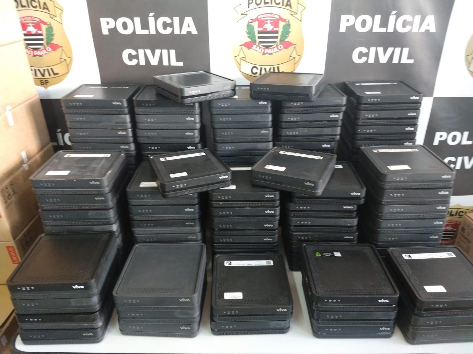 Homem é preso em Hortolândia por venda de aparelhos de transmissão de internet nas redes sociais