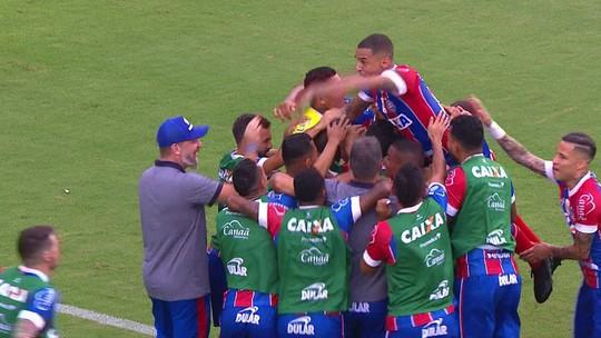 """Nilton celebra primeiro gol e lamenta suspensão: """"Seria um confronto de familiares"""""""