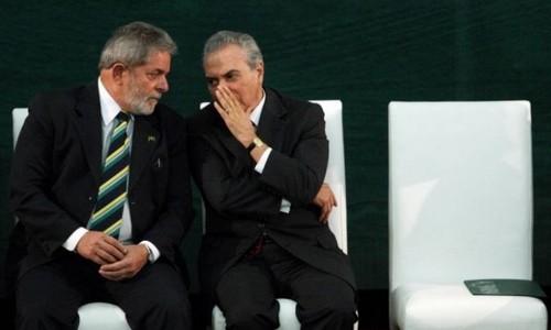 Luiz Inácio Lula da Silva e Michel Temer em 2010