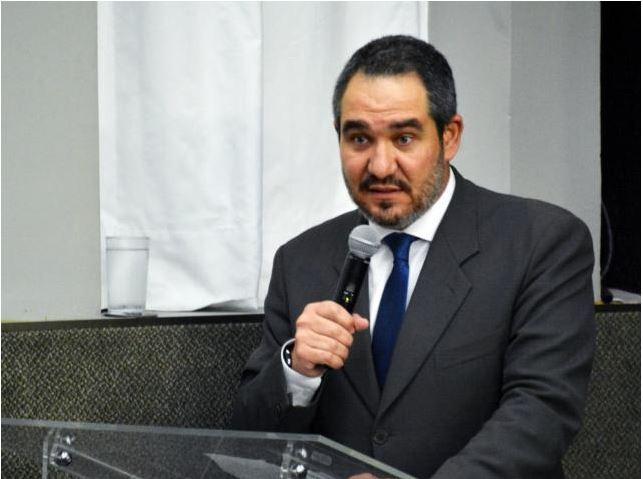 O presidente da Agência Nacional de Cinema (Ancine) Cristian de Castro Oliveira.