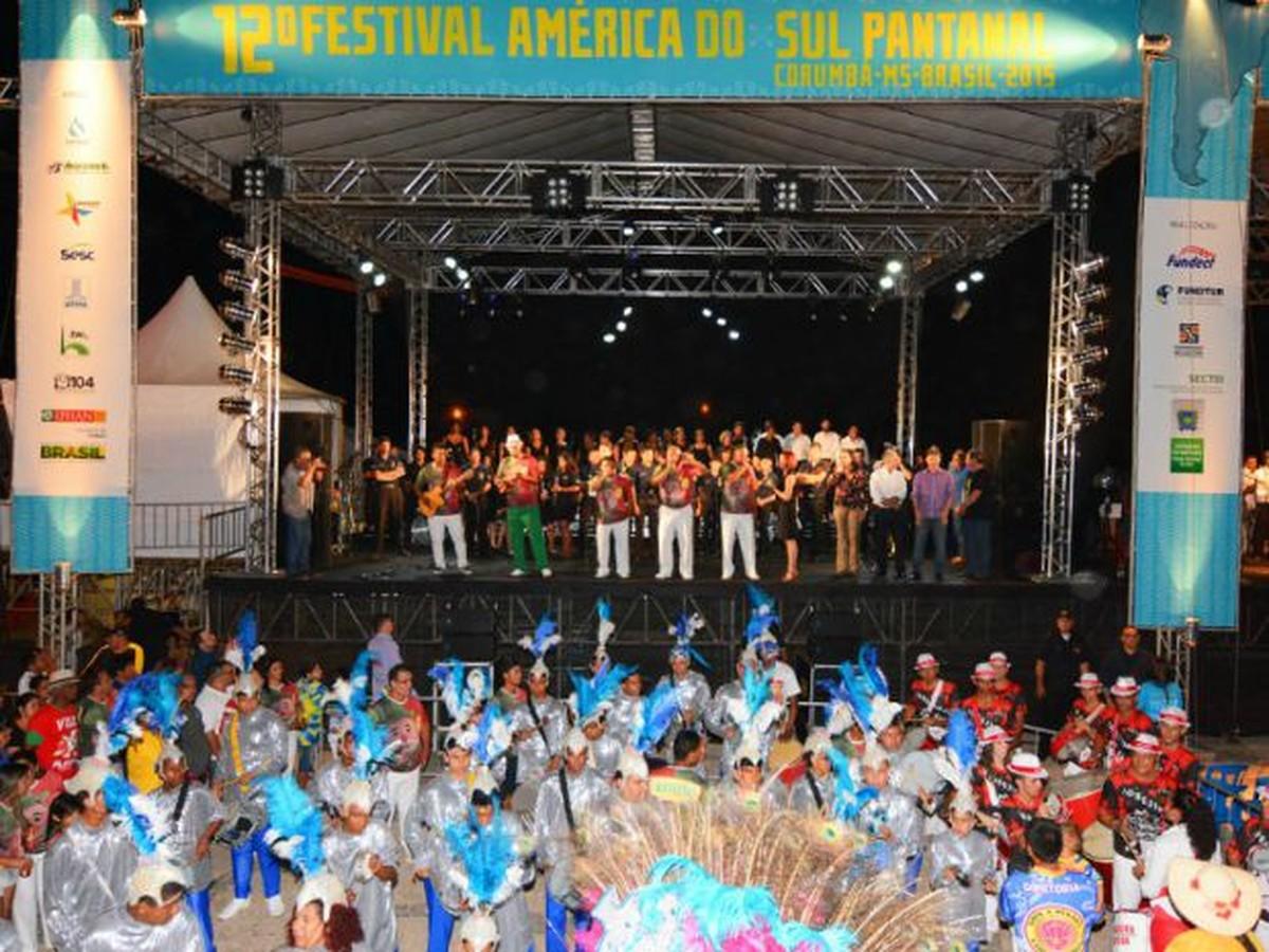 14ª edição do Festival América do Sul Pantanal é adiada para 2018