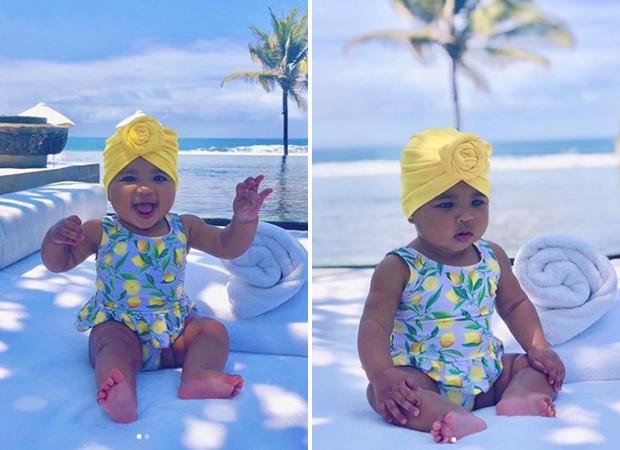 True, filha de Khloé Kardashian e Tristan Thompson (Foto: Reprodução / Instagram)