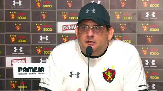 Sem o capitão, Guto Ferreira lista outros líderes do Sport em jogo decisivo