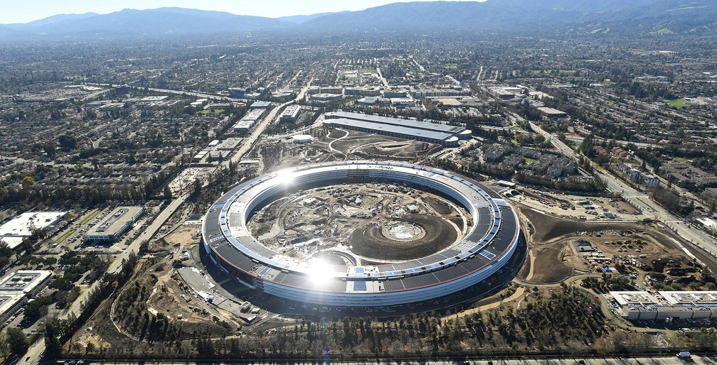 Nova sede da Apple na Califórnia será inaugurada em abril