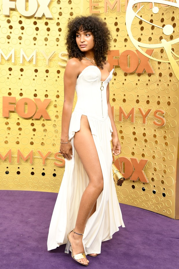 Indya Moore usa Louis Vuitton (Foto: WireImage)