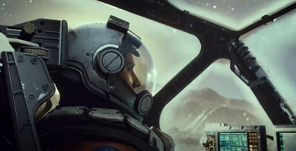Starfield foi um dos grandes destaques da Microsoft — Foto: Reprodução/Xbox & Bethesda Games Showcase